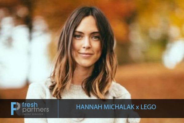 HANNAH MICHALAK X LEGO